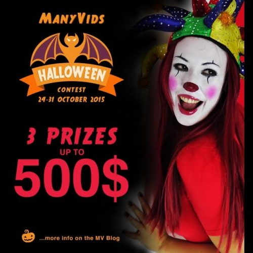ManyVids Halloween Contest: Prizes For Adult Models!