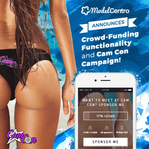 ModelCentro Offers Crowd-Funding Feature For CamCon 2016