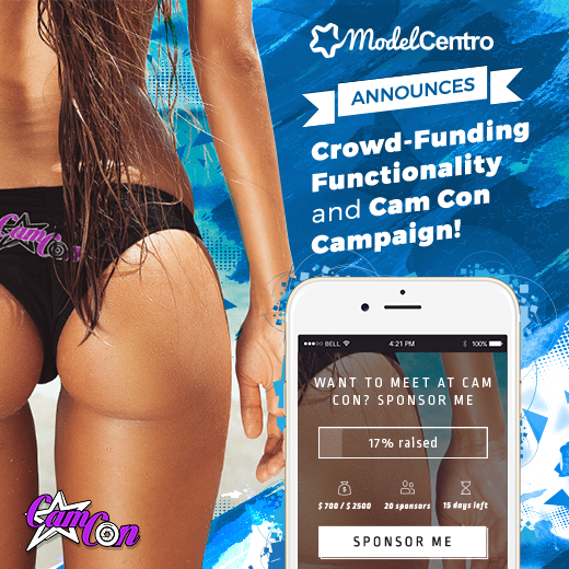 ModelCentro Funding Models For Trip To CamCon 2016