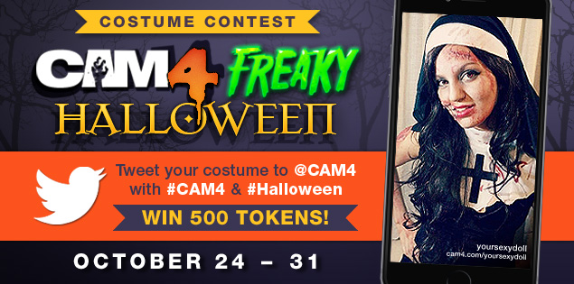 CAM4 Halloween Costume Competition 2016