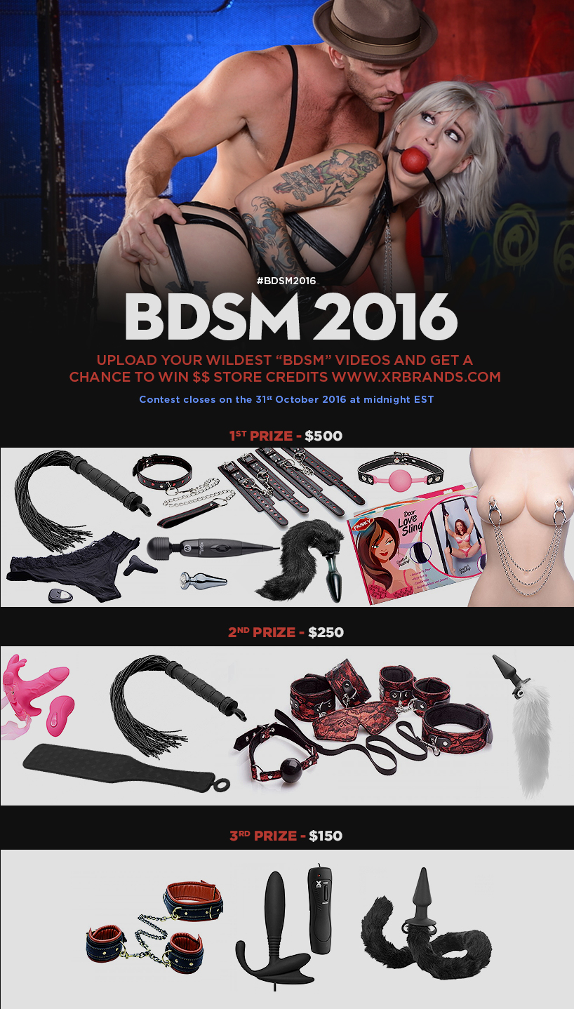 October 2016 PornHub BDSM Competition