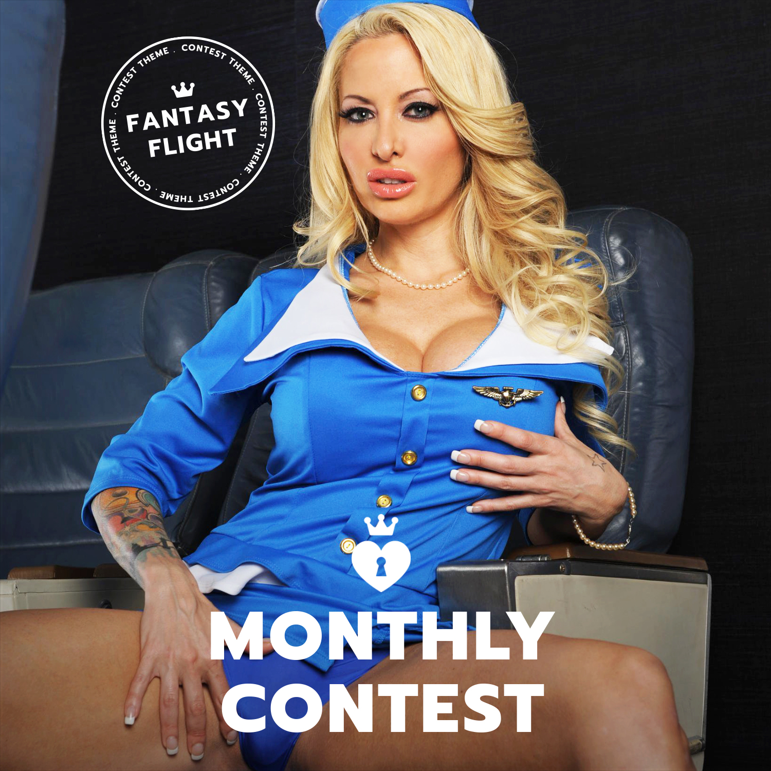ManyVids: Fantasy Flight Twitter Competition (June 2017 )