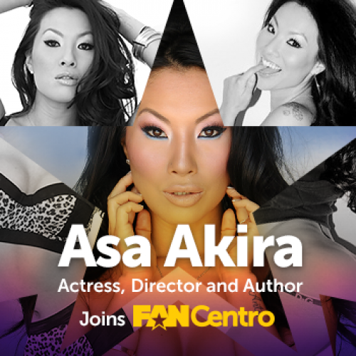 Famous Pornstar Asa Akira Joins The FanCentro Influencers