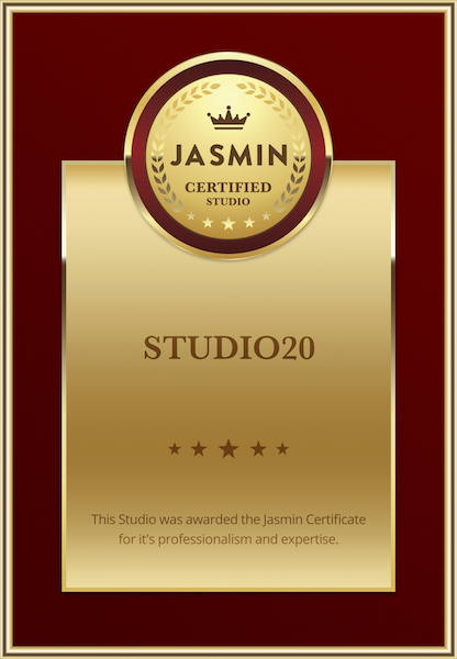 Studio 20: Only Jasmin Gold Certified Webcam Studio
