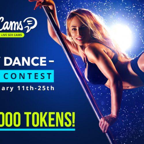 BongaCams Sexy Dance Video Contest (Jan 11-25, 2018)