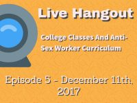 Podcast: Higher Education Teaching Anti Sex-Work Classes