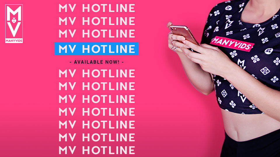 ManyVids Prevents The MV Hotline