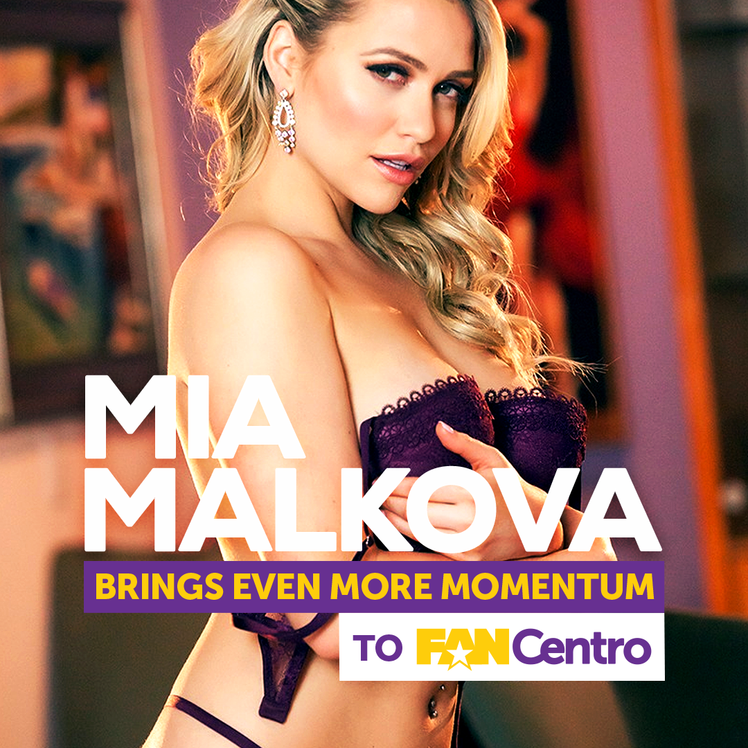 Mia Malkova Partners With FanCentro
