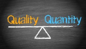 11: Quality vs Quantity