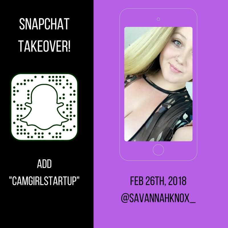 Snapchat Takeover 2/26/2018