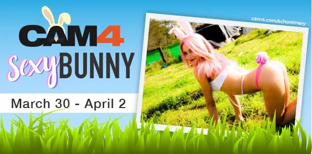 CAM4 Sexy Bunny Contest (March 30th - April 2nd, 2018)