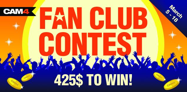 CAM4 Fanclub Contest - March 2018