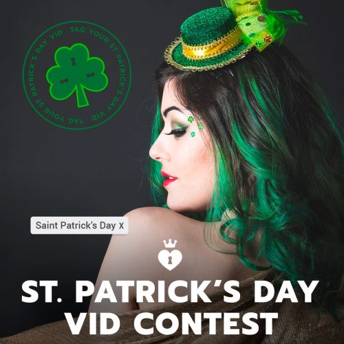ManyVids: 2018 St Patrick's Day Video Contest
