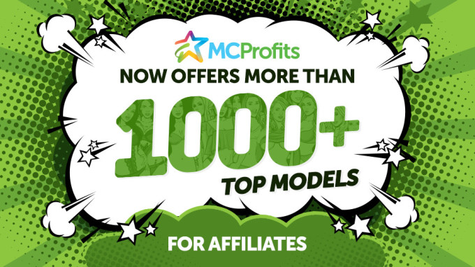 MCProfits: Over 1,000 Models For Affiliates To Promote