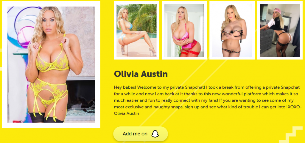 Olivia Austin's Profile On FanCentro