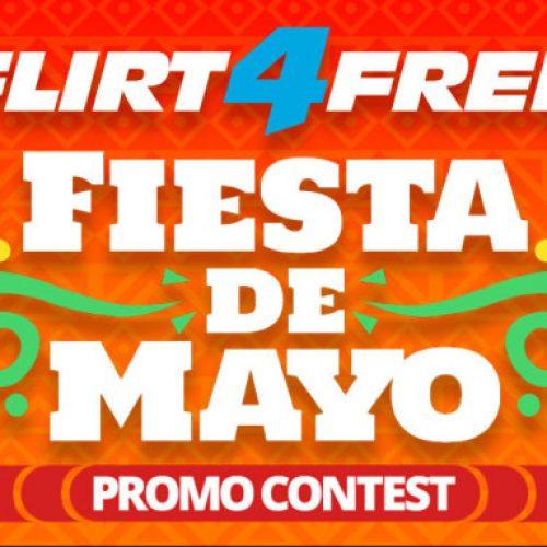 Flirt4Free's Fiesta De Mayo (May 2-5th 2018)