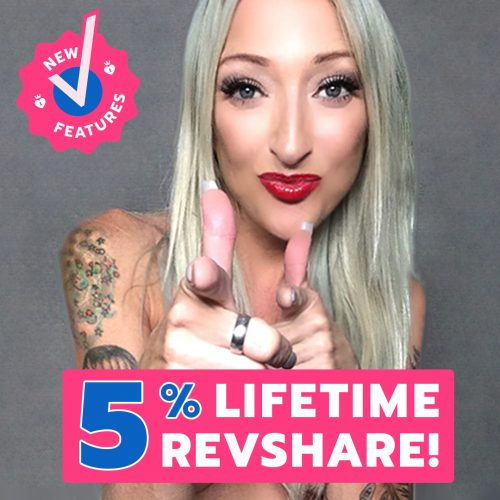 ManyVids Updates Affiliate Program: 5% Lifetime Revshare
