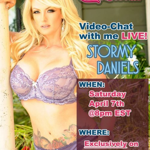 Stormy Daniels Camming Exclusively On Camster