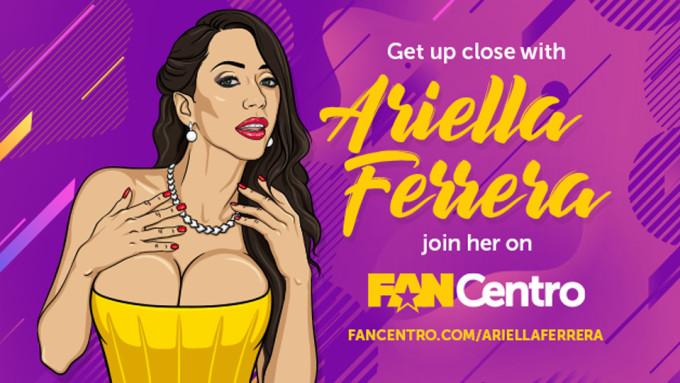 Ariella Ferrera Selling Premium Snapchat On FanCentro