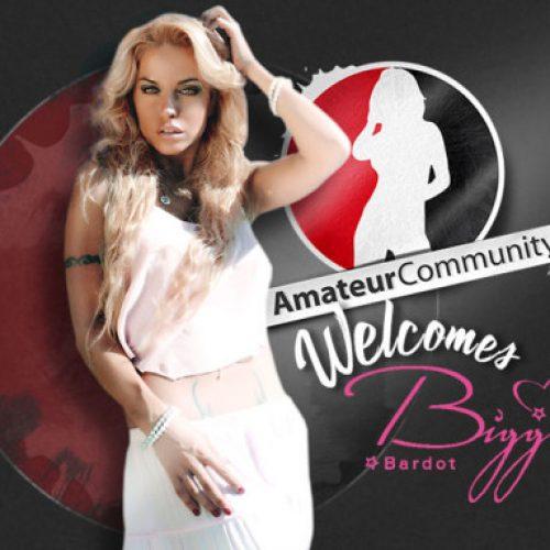 German Pop Artist Biggi Bardot Joins AmateurCommunity