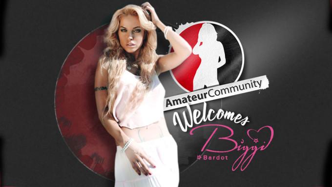 Biggi Bardot Joins AmateurCommunity