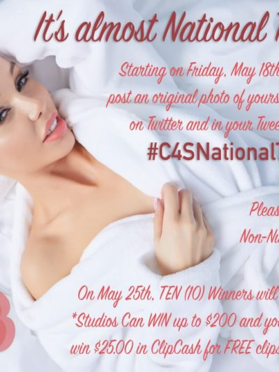 Clips4Sale 2018 National Towel Day Promo (May 18-24)