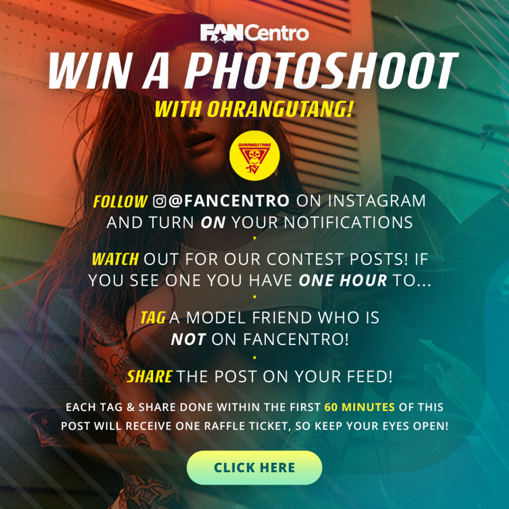 FanCentro 2018 CamCon Contest: OhranguTang Photoshoot