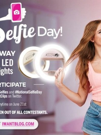 iWantClips 2018 National Selfie Day Giveaway!