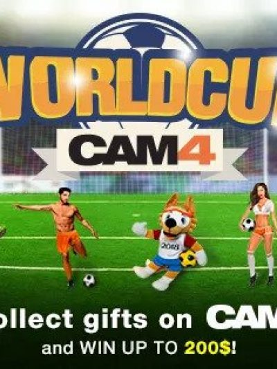 Two CAM4 World Cup Themed Contests: June/July 2018