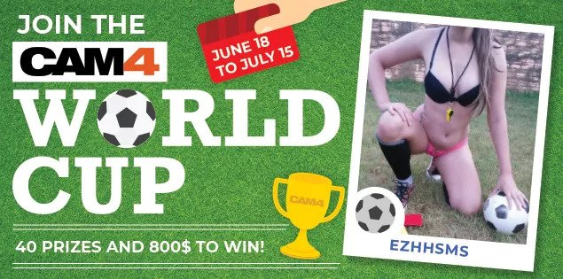 CAM4 2018 World Cup Contest