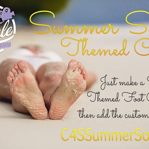 Clips4Sale 2018 Summer Soles Foot Fetish Promotion