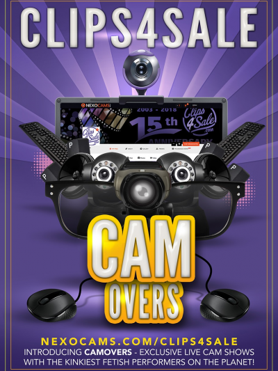 Clips4Sale / NexoCams Announces New CamOver Series