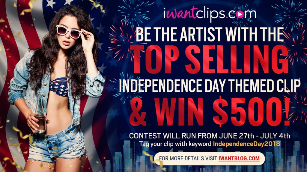 iWantClips 2018 4th of July Contest