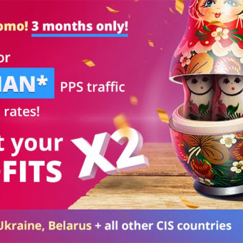BongaCash: 2x Pay On Russian Traffic (July – September, 2018)