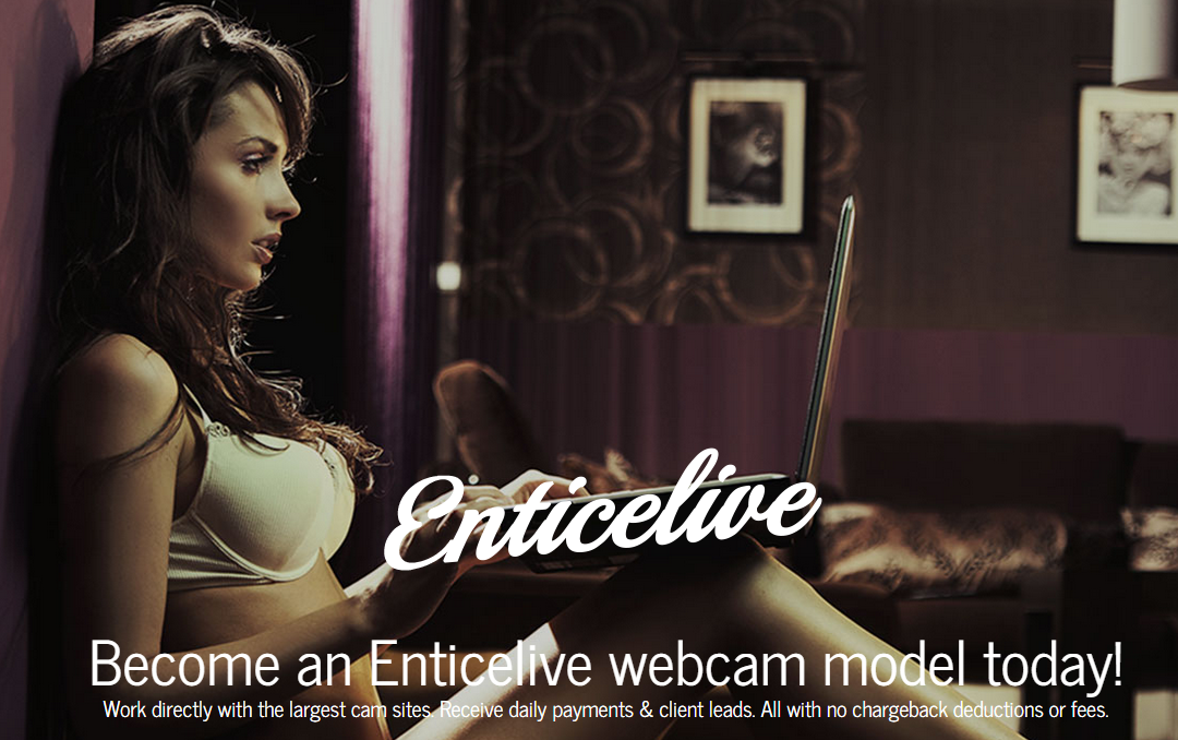 Become An EnticeLive Model