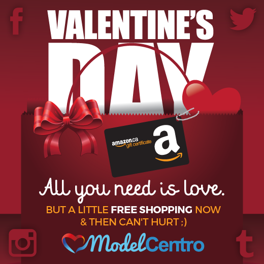 ModelCentro Valentine's Day Competition