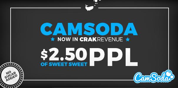 CamSoda Affiliate Program Added To CrakRevenue