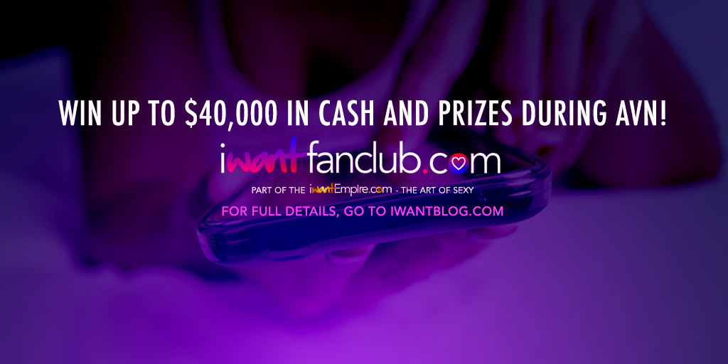 iWantEmpire / iWantFanClub Adult Entertainment Expo Giveaway