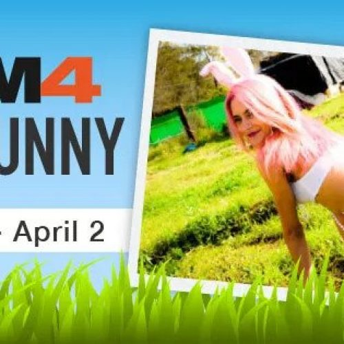 CAM4 Sexy Bunny Contest (March 30th – April 2nd, 2018)
