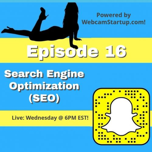 Podcast 16: Camming Model SEO and Industry News