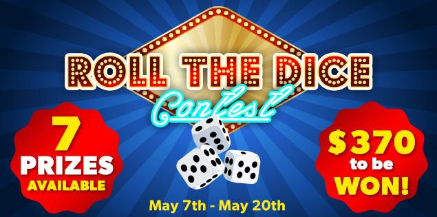 CAM4 Roll The Dice Contest (May 7th, 2018)