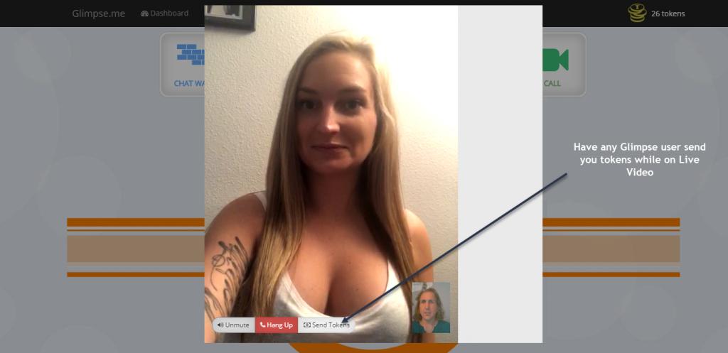 Glimpse.Me Webcam Shows