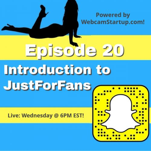 Podcast 20: Dominic Ford Presents JustForFans (Adult Fanclubs)