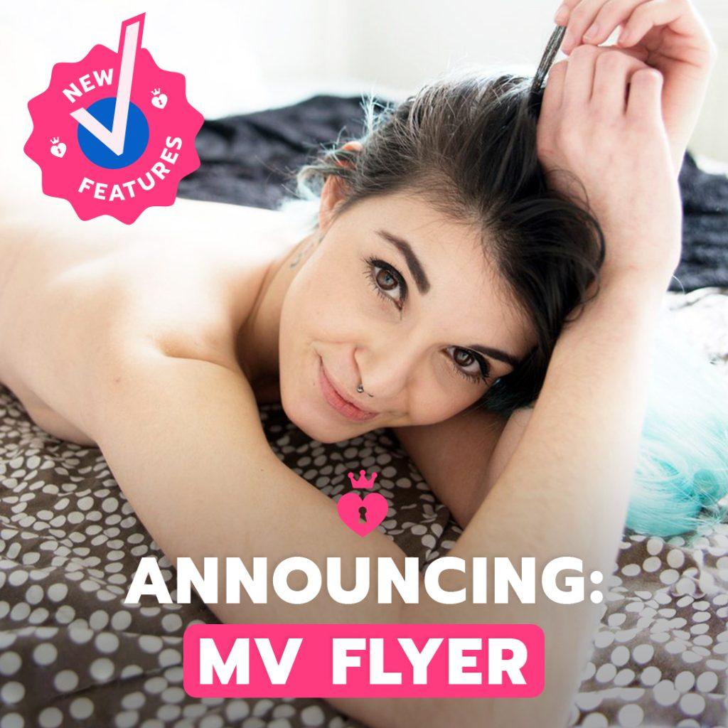 Manyvids Announces Mv Flyer Group Messaging