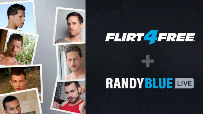 Flirt4Free Acquires Gay Camming Site Randy Blue Live