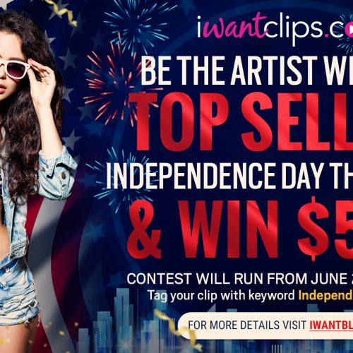 iWantClips 2018 Independence Day Contest