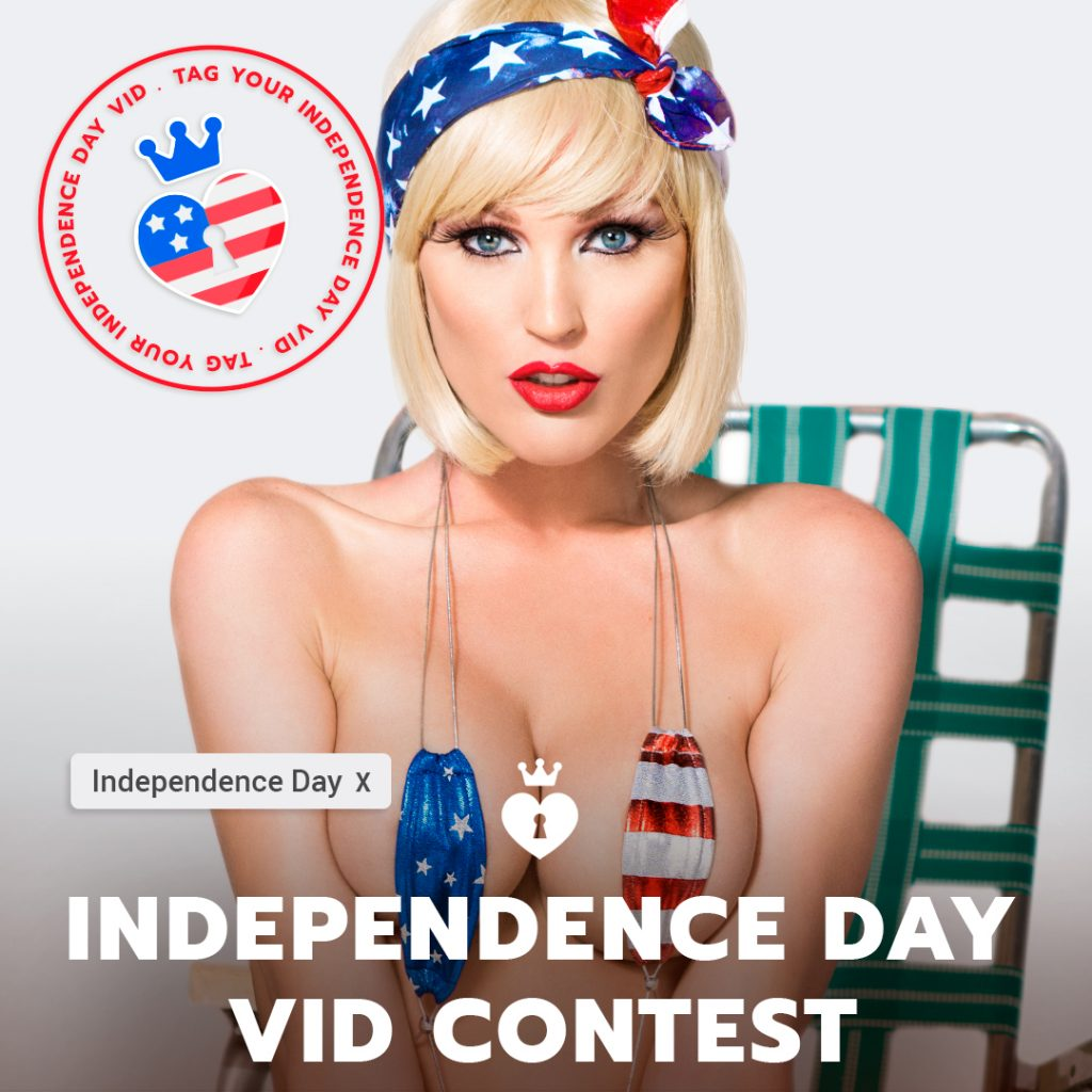 ManyVids 2018 4th of July Video Contest