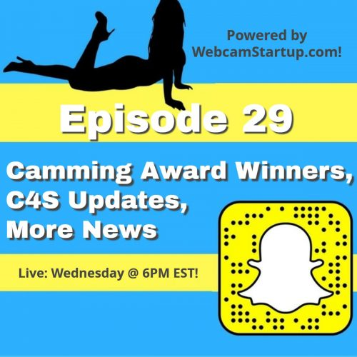 Podcast 29: Award Winners, Clips4Sale, ManyVids and Flirt4Free News