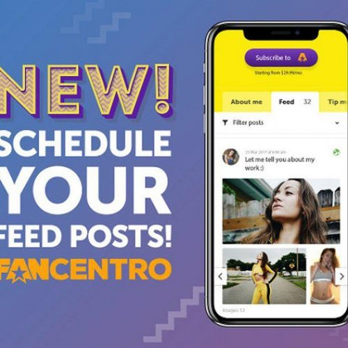 FanCentro Launches New Scheduled Post Feature