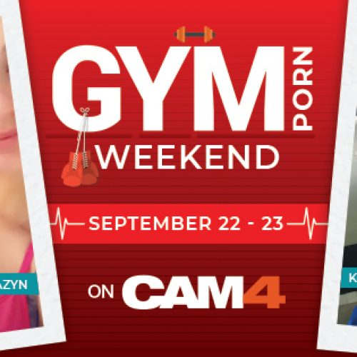 CAM4 GymPorn Twitter Contest: Sept 22-23, 2018